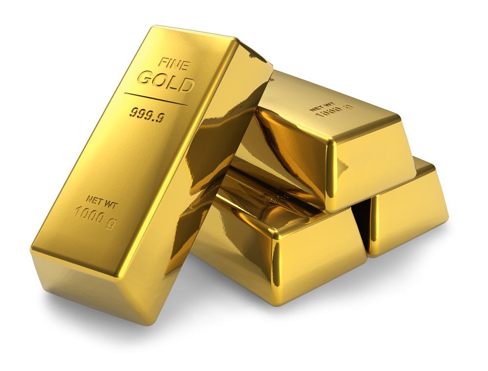 ilustrasi investasi emas batangan